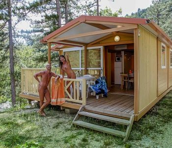location chalet cigale camping origan