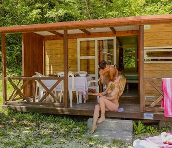 location chalet luciole camping origan