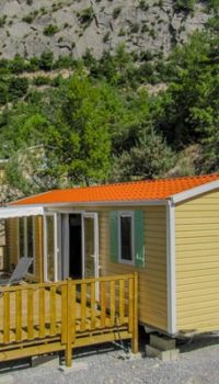 location cottage camping provence