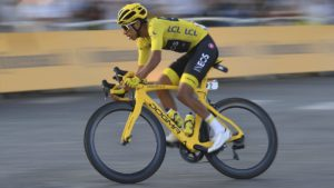 Tour de France cycliste au depart de Nice