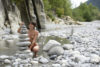 riviere nudiste  village  Provence
