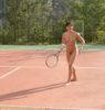court de tennis camping village naturiste provence